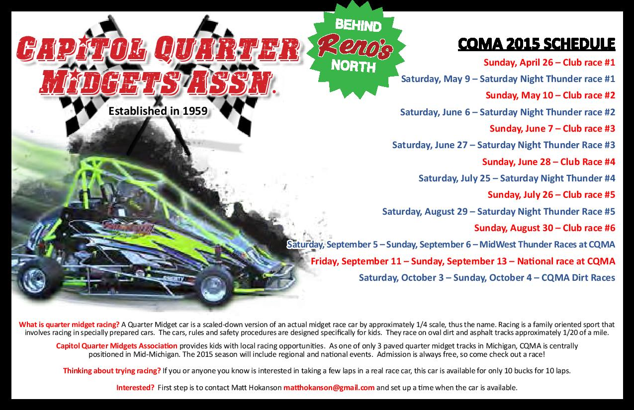 Capital Quarter Midget Car - June 1