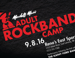 Adult Rock Band Camp