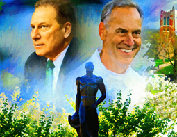 Tom Izzo and Mark Dantonio Graphic BLOG