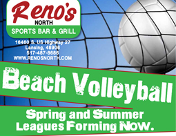 Reno's Volleyball (Beach) League Registrations