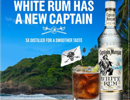 Captian Morgan White Promo